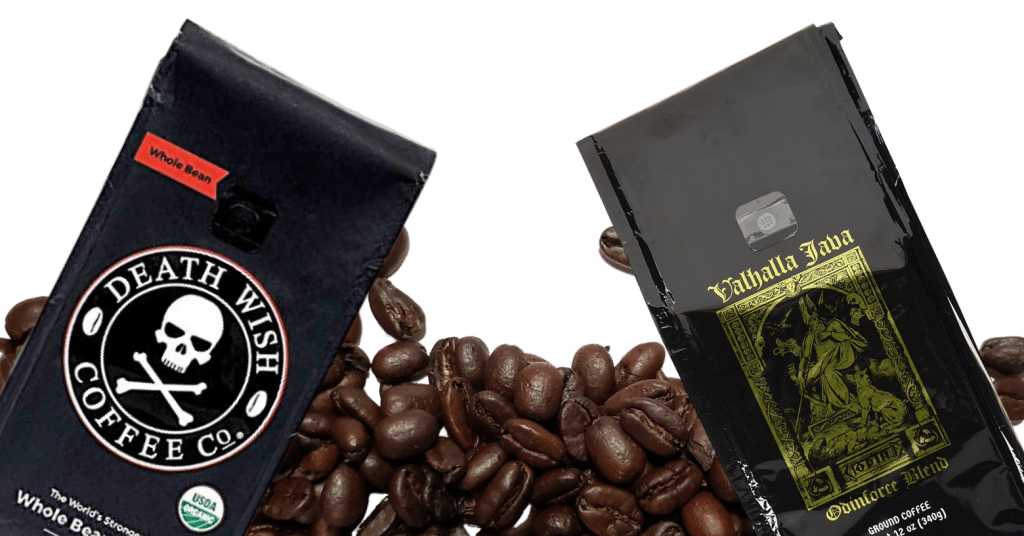 Death Wish Coffee Company Bags Of Beans