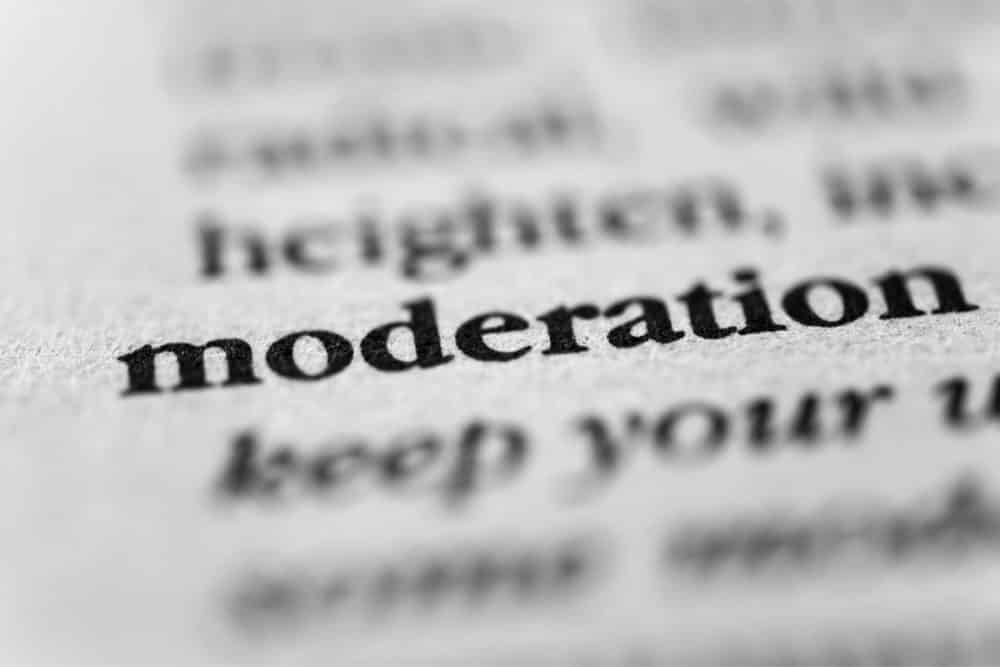 Drink in moderation Image