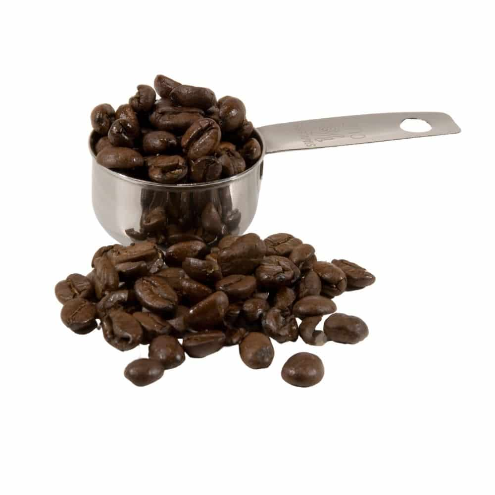 Measuring Cups With Coffee Beans Image