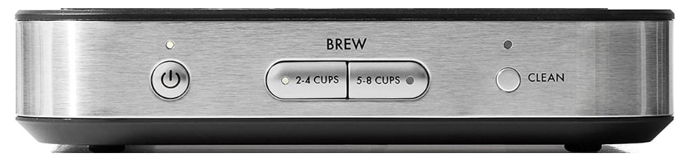 oxo 8 cup buttons on front of coffee machine Image