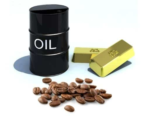 oil gold coffee Image