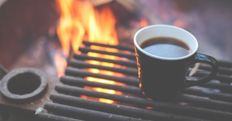 how to make coffee using a percolator while camping Image