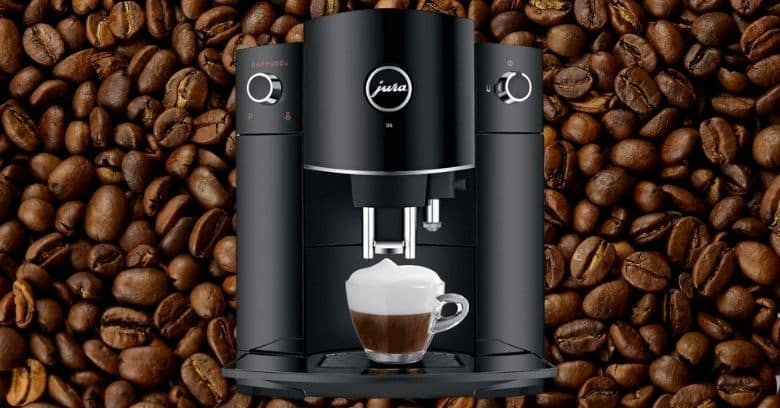 Jura D6 Automatic Coffee Machine Review Image